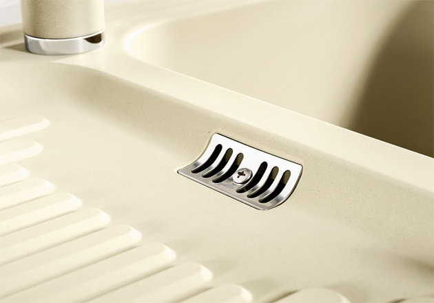 blancoclassic 45 s spuele sp len blanco silgranit. Black Bedroom Furniture Sets. Home Design Ideas