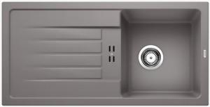 granit sp le blanco favum 45 s silgranit puradur ii blancofavum spuelen. Black Bedroom Furniture Sets. Home Design Ideas